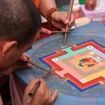 Photo of the Week: Buddhist Monks Making Art