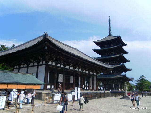 Kōfuku-ji Temple in Nara, Japan