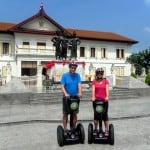Gliding Through Chiang Mai, Thailand, with Segway Gibbon