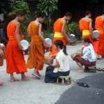 Photo of the Week: The Monks' Alms Procession in Luang Prabang, Laos