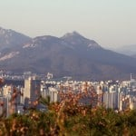 Photo of the Week: Overlooking Seoul from Yongmasan Mountain