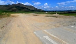 Our trip entailed a lot of off-road driving, which was difficult for our small Hyundai van to handle.
