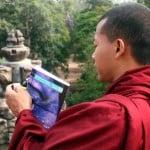 Photo of the Week: A Buddhist Monk and His Lonely Planet