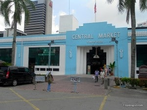 The historical Central Market in Kuala Lumpur's Chinatown is a great place to grab lunch or a few souvenirs.