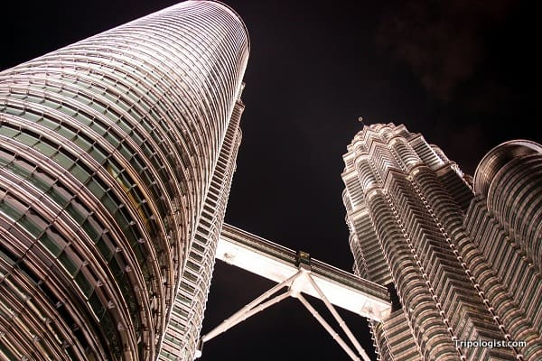 he Petronas Towers, in Kuala Lumpur, Malaysia, are fantastic and worth visiting, especially after dark.