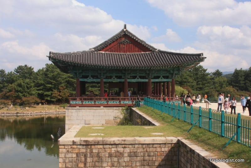 Anapji Pond in Gyeongju, South Korea is a great place to visit during your travels.