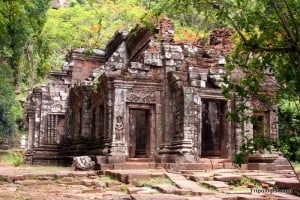 Wat Phou is one of the ancient cities of the Khmer. Located in Laos, Wat Phou is the older, less touristed cousin of Angkor Wat.