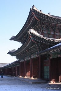 Heungnyemun, the inner gate of Gyeongbokgung Palace in Seoul.