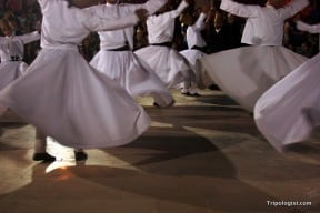 The Whirling Dervishes put on a great demonstration in Konya, Turkey.