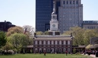 Independence Hall in Philadelphia is the birthplace of America and free to visit.