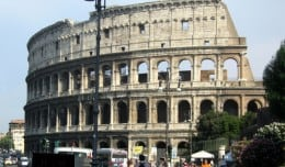 The Colosseum in Rome, Italy is one of the world's most impressive buildings.