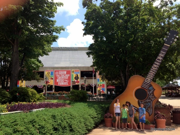 The Grand Ole Opry House in Nashville is one of the country's premier music venues.
