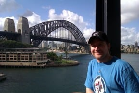 Author Steve Sirski - Working in Australia
