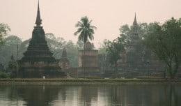 The ruins of Sukhothai, Thailand.