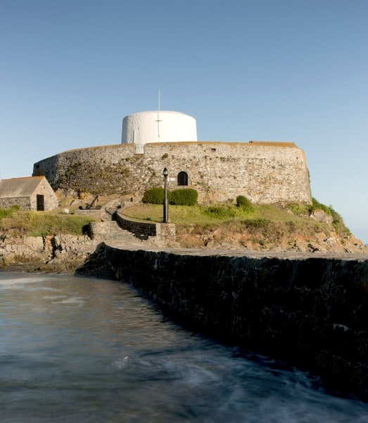 Fort Grey (Photo used courtesy of Guernsey Images)