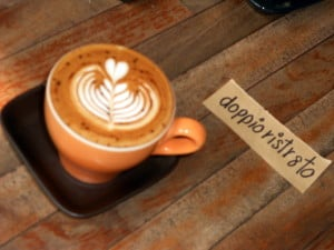 Rist8to coffee in Chiang Mai, Thailand.
