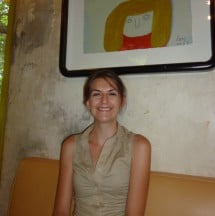 Author Laura Gibbs - Coffee in Chiang Mai, Thailand
