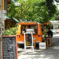Coffee Van in Temple