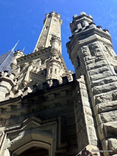 Chicago's old Water Tower is one of the city's most memorable buildings.
