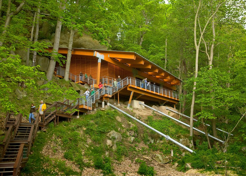 Meadowcroft Rockshelter, the oldest known site of human habitation in North America