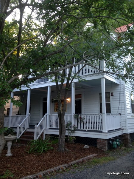 Not So Hostel in Charleston, South Carolina is located in a beautiful old home.