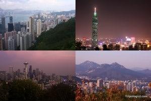 5 Amazing Urban Vistas in Asia and North America