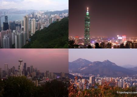 Amazing urban vistas from around the world