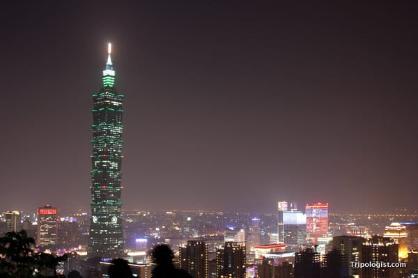 Best urban vistas in the world - Taipei, Taiwan