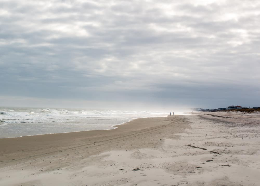 Walking the deserted beaches at Huntington Beach State Park is a great thing to do in Myrtle Beach in the winter.