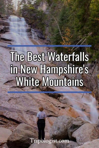The best waterfalls in the White Mountains of New Hampshire